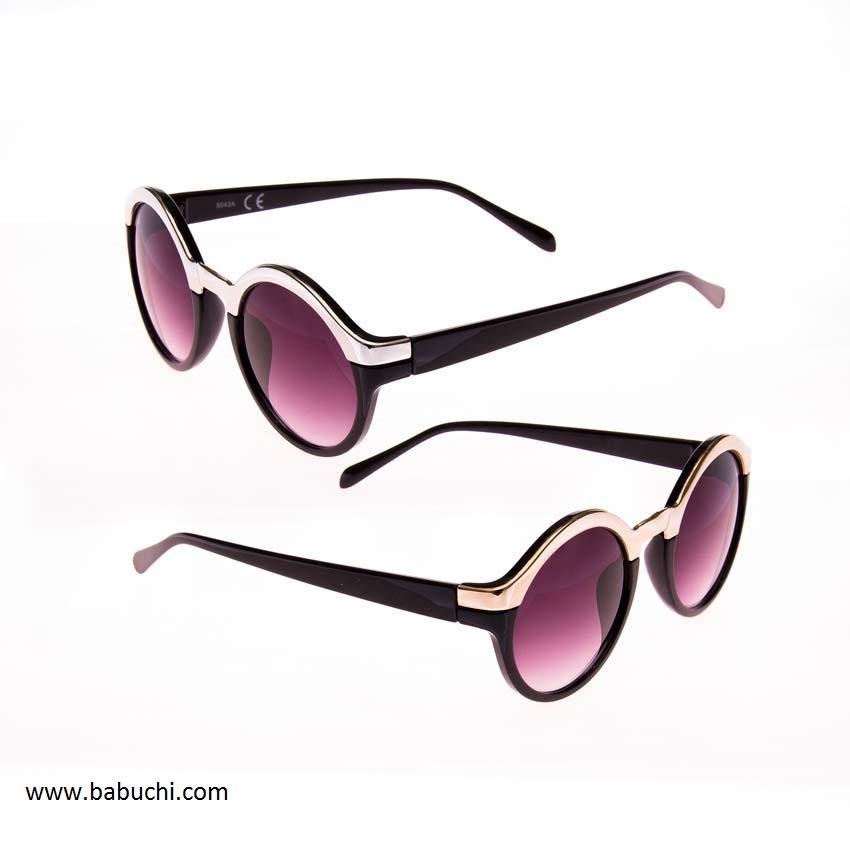 gafas de sol de mujer redondas