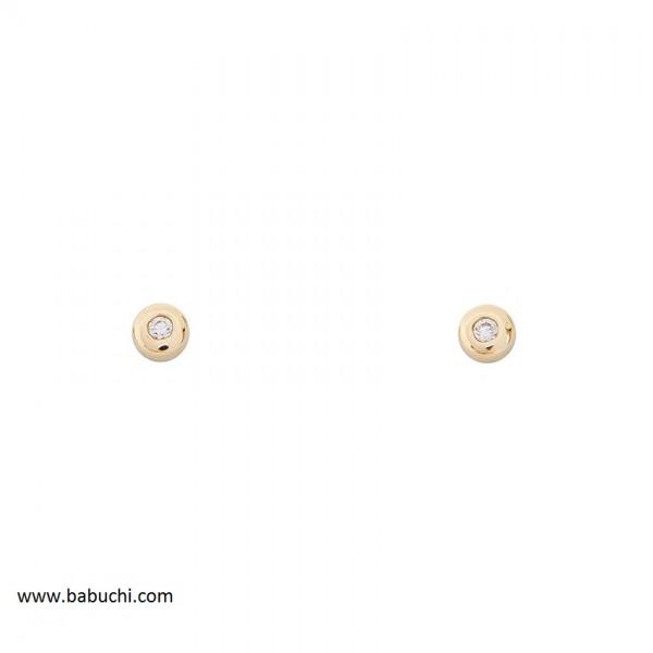 precio pendientes bebé oro 18k redondo mini