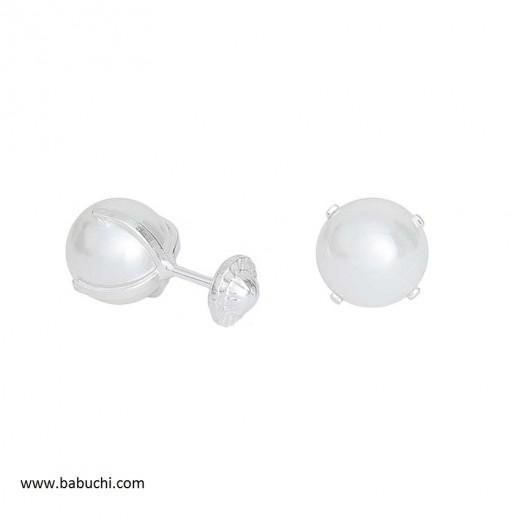precio pendientes plata de ley patilla con perla 7 mm