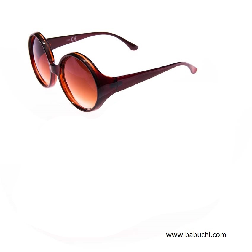 c245a2a837 precio gafas de sol pasta redondas grandes mujer marrón