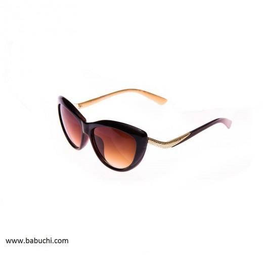 Gafas de sol mujer estilo mariposa patilla beige