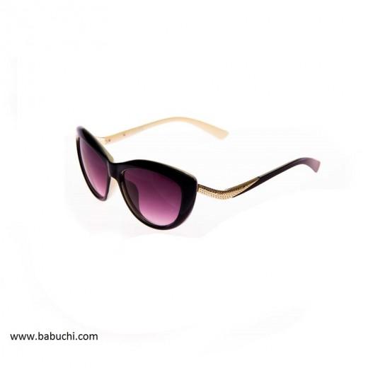 Gafas de sol mujer estilo mariposa patilla dorada
