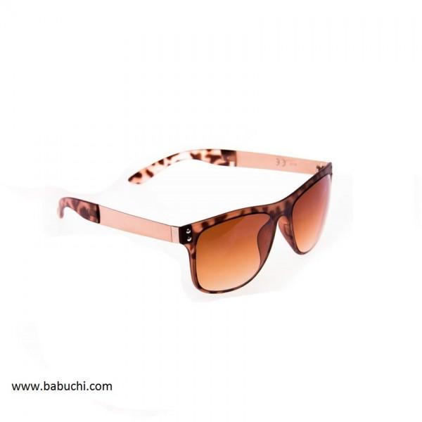 Gafas de sol mujer marrón leopardo