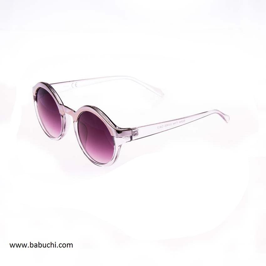a2ce53dafc precio gafas de sol redondas filo cromado transparente mujer hmbre
