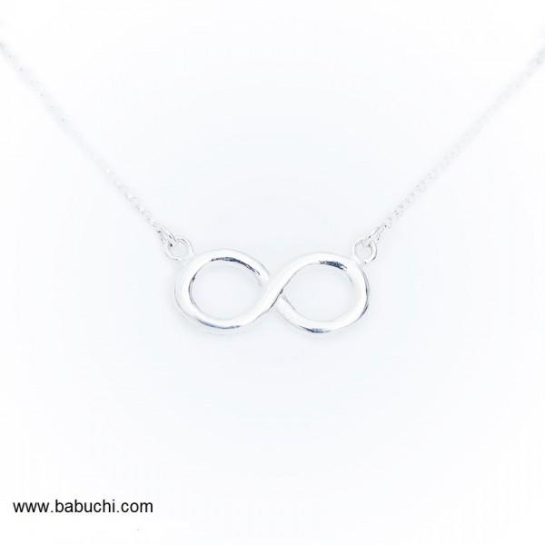 cadena de plata infinito